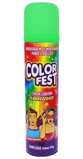 Tinta Liquida Color Fest Verde 150ml