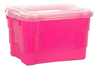 Caja Organizador Plástica Col Living Box Grande Colombraro