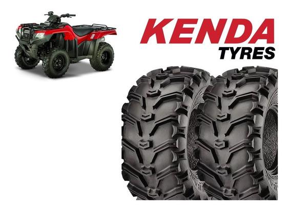 Par Pneus Kenda 24/10-11 Quadriciclo Honda Fourtrax Traseiro
