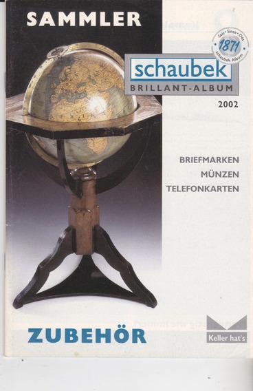 Novo Catálogo De Filatelia - Material Alemão Shaubek