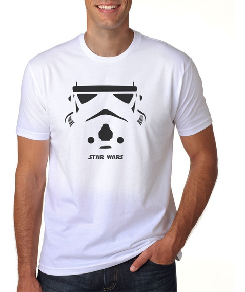 Camiseta Star Wars Stormtroopers Face