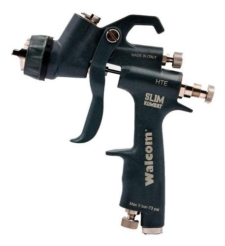 Imagem 1 de 5 de Pistola De Pintura Walcom Slim Kombat Hte Bico 1.3 Mm