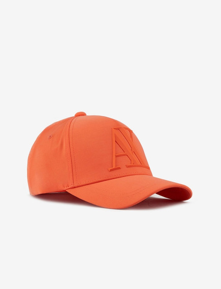 Boné A|x Armani Exchange Rubber Logo 3d Orange