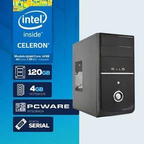 Computador Visage Pc Blanc J4105g - 241 1s Ssd (quad Core J4