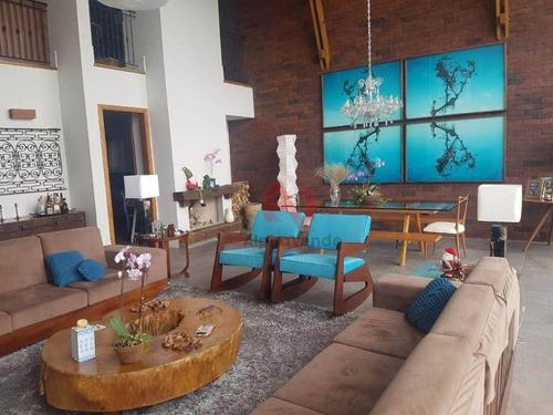 Imagem 1 de 30 de Casa Com 4 Dormitórios, 500 M² - Venda Por R$ 4.000.000,00 Ou Aluguel Por R$ 25.000,00/mês - Alphaville - Santana De Parnaíba/sp - Ca6280