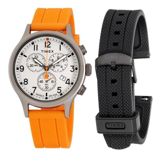 Relógio Masculino Timex Expedition Cronógrafo + Pulseira