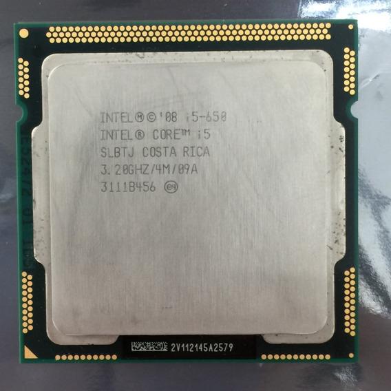 Processador Intel Core I5 650 Usado