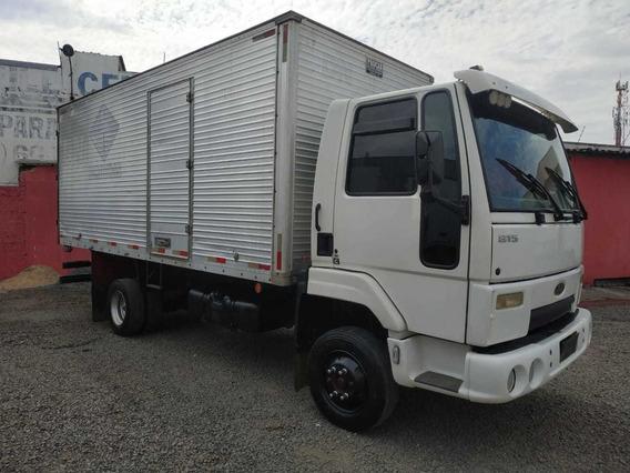 Ford Cargo 815 2002 Baú Covelp Americana
