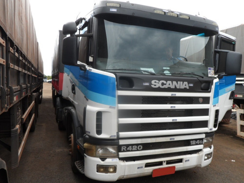 Scania R124 420 6x2 Trucado 2006/2006 (vt)