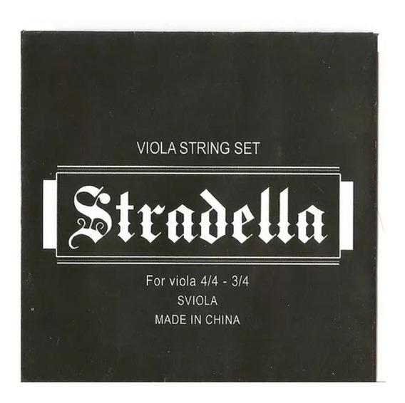 Stradella Sviola Encordado De Viola