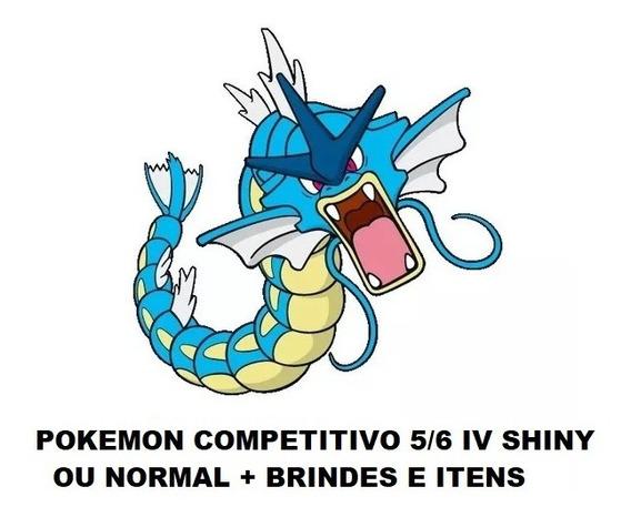 Promoção 10 Pokemon Y X Sun Moon Oras Shiny 6iv Competitivo