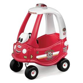 Carro Coupe Bombeiros Little Tikes 18m-5a Frete Grátis Nf