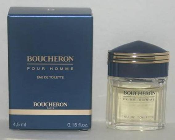 Miniatura De Perfume: Boucheron Pour Homme - 4,5 Ml - Edp