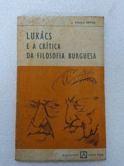 Lucaks E A Crítica Da Filosofia Burguesa