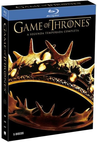 Box Blu Ray - Game Of Thrones - 2 Temporada - 5 Discos