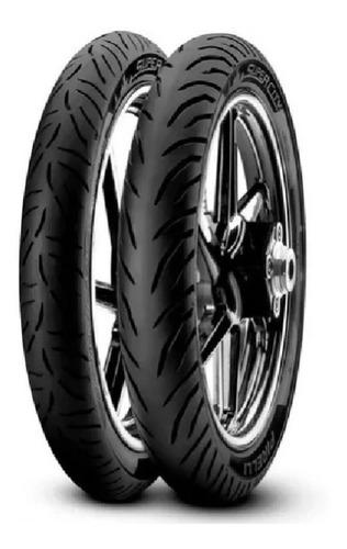 Kit Cubiertas Pirelli Super City Honda Wave Mirage 110 Gaona