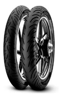 Kit Cubiertas Pirelli Super City Honda Cg New Titan 150 - Gm
