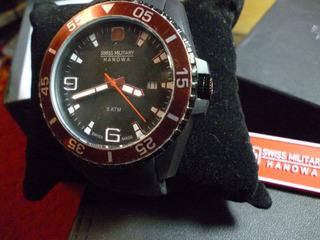 Relógio Masculino Hanowa Military, Swiss Made, Novo, Moderno