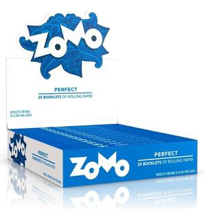 6 Caixas Seda Zomo 3 Azul De Luxe 3 Verde Slim Master