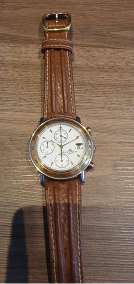 Relógio Suíço Baume Et Mercier Automatico Transpacific Ouro