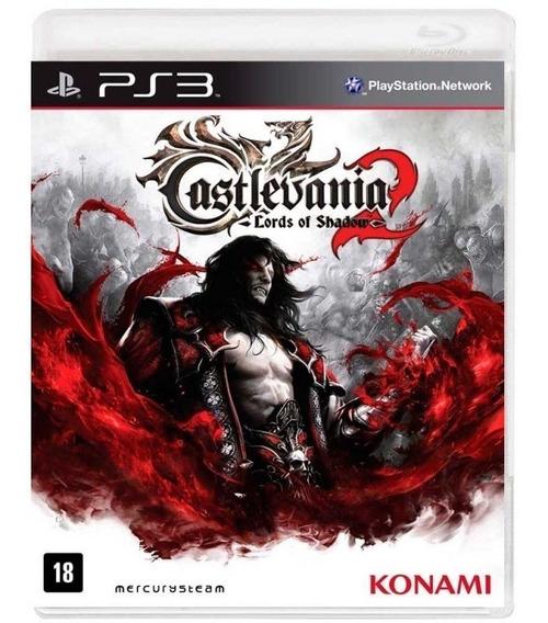 Castlevania Lords Of Shadow 2 Ps3 Fisica Lacrado Nfe