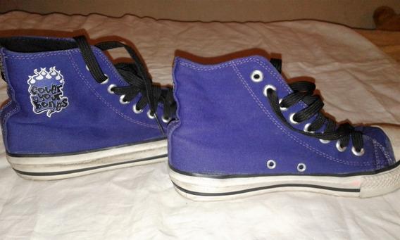 Zapatillas Cover Your Bones Violeta De Mujer