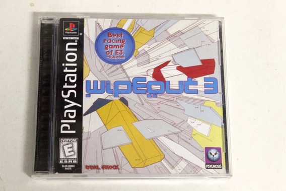 Ps1 - Wipeout 3 - Original Sem Riscos Ntsc