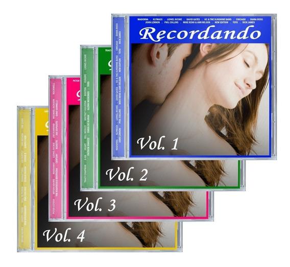 Coletânea Recordando - Lacrada 4 Cd