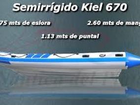 Semirrigido Kiel 670!!!