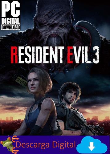 Resident Evil 3 Remake Re3 Pc Descarga Digital
