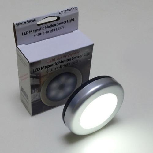 Luz Led Con Sensor De Movimiento Magnético