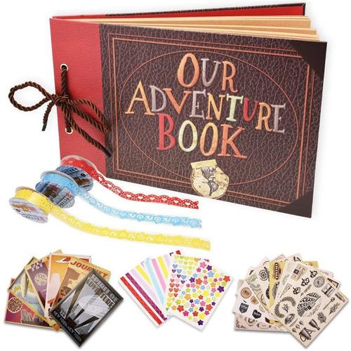 40 Álbumes De Fotos-nuestro Libro De Aventuras-versión 3d