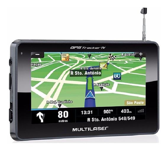 Navegador Gps Multilaser Tracker Iii Tela 4.3 P. Preto Gp034