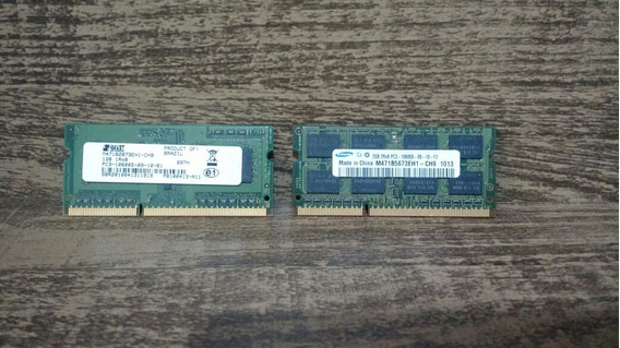 Par Memoria Notebook Pavilion Dv4 3gb Ddr2 Pc3-10600s