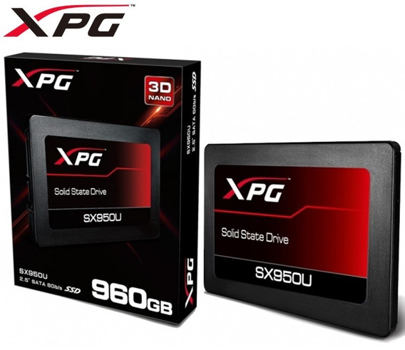 Ssd Sata Gamer Unidad Estado Solido Adata Xpg Sx950u 960gb