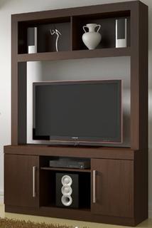 Mueble Para Tv 2 Puertas Y Estantes Moderno