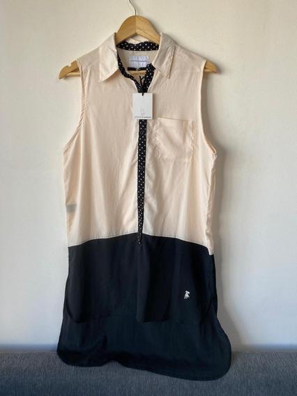 Camisa Camisola Vestido Dama Garçon García Talle M