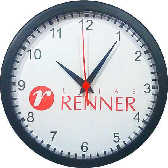 40 Relógios De Parede Personalizados Com A Foto Que Desejar- Logomarca- Brindes - Grande 24x24cm (em Caixas Individuais)