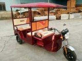 Triciclo Elétrico Novo De Passageiro