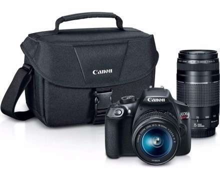 Camera Canon Eos T6 Kit Premium (18-55mm+75-300mm Ef Iii+ Bo