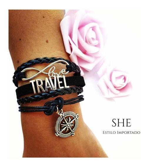 Pulsera Infinity Love Travel
