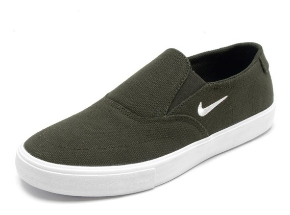 Zapatillas Nike Sb Portmore Ii Solarsoft Slip Panchas Negras