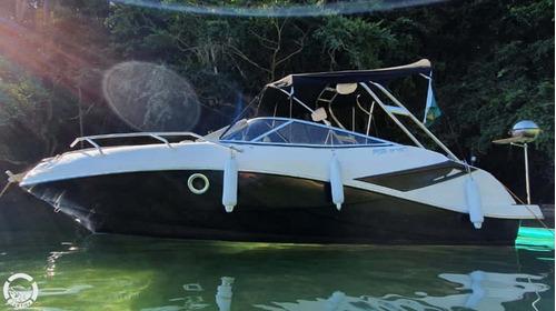 Imagem 1 de 14 de Lancha Fs 215 Cabinada Motor 4 Tempos, Ñ Coral, Real, Focker