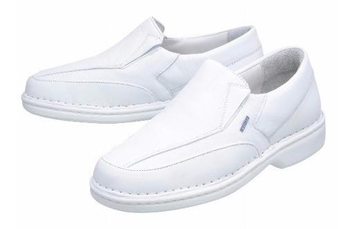 Sapato Branco Hospitalar Enfermeiro Médico Veterinário Dentista Anti-stress