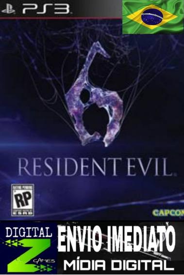 Resident Evil 6 Leg Português Ps3 Jogue Hoje