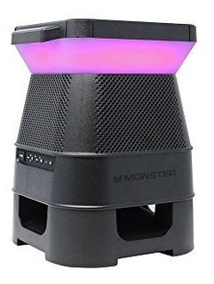 Parlante Exterior Bluetooth Solar Moster Audio 360 Led