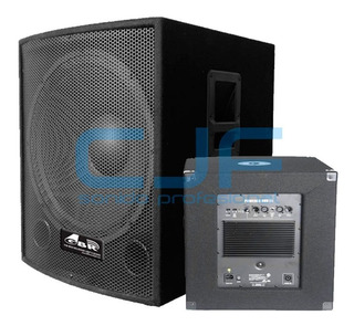 Sub Woofer Activo Potenciado Gbr Powered 15 600 Watts Cjf