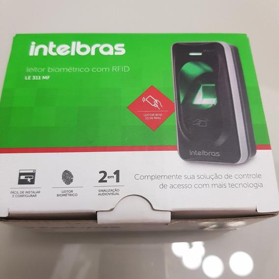 Leitor Biométrico Com Rfid Le 311 Mf Intelbras