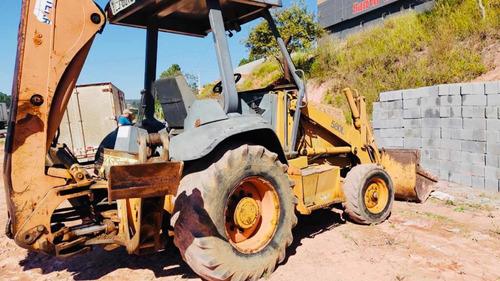 Imagem 1 de 5 de Retroescavadeira Case 580l Ano 1997