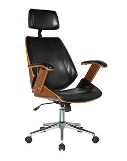 Cadeira Presidente Lisboa - Cor Preta